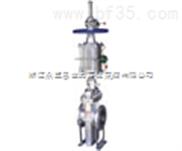 (K)Z643Y气动带导流孔平板闸阀