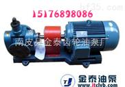 """2CG-3/0.6高温齿轮泵 """"金泰""""经久耐用不腐蚀"""