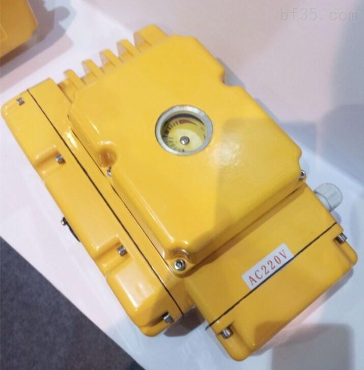 QY-100电动执行器 精小型电动执行器
