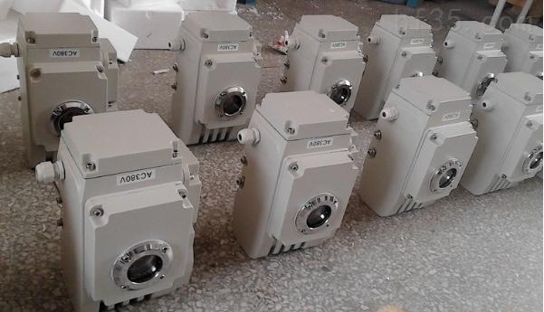精小型电动执行器/角行程执行器QY-40