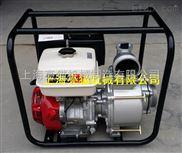 本田GX390汽油污水泵, 13马力4寸防汛应急非开挖用排污泵,水利专用