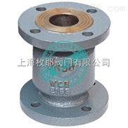 铸钢立式止回阀H42H  上海枚耶阀门