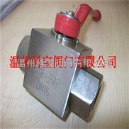 Q11F-500C/P 50.0MPa 3/4寸 G/R螺纹高压球阀