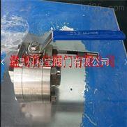 三片式焊接锻打全通径球阀 PN160 1/2寸