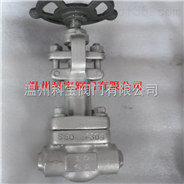 Z61Y-160P高压锻钢焊接闸阀DN32-50