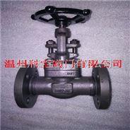 Z41W-160P 国标锻钢高压法兰闸阀DN32-40