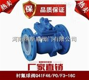 郑州纳斯威Q41F46衬氟球阀产品价格