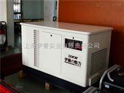 30KW低噪音全自動發電機
