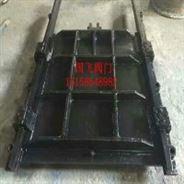 手電兩用鑄鐵鑲銅方閘門