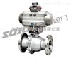 Q641F/PPL不锈钢气动浮动球阀,气动不锈钢球阀