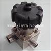 GMF-07F卫生级锻造式焊接三通隔膜阀